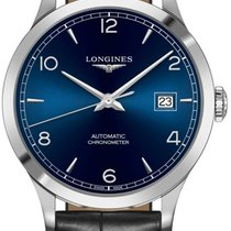 Longines Record Steel 40mm Blue United States of America, New York, Airmont