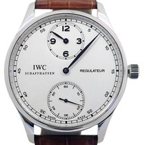 IWC Portuguese Regulator Iw 54441 Belt Men's Handwritten...
