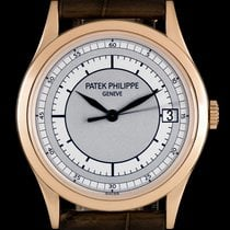 Patek Philippe Calatrava pre-owned 38mm Rose gold