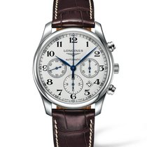 Longines Master Collection Steel 42mm Silver Arabic numerals United States of America, Iowa