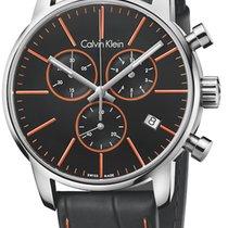 ck Calvin Klein Steel 43mm Quartz K2G271C1 new