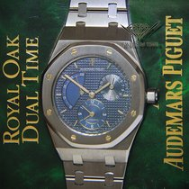 Audemars Piguet Royal Oak Dual Time Power Reserve Steel Mens...