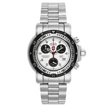 Swiss Military Chronograph 51mm Quartz White