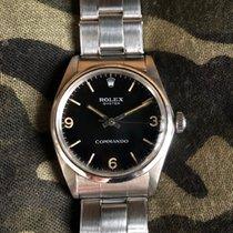 Rolex Explorer Stahl 34mm Schwarz