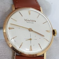 Wyler Vetta Rose gold 34mm Manual winding Wyler Vetta Ultra Thin Peseux 330 Manual Winding 34mm pre-owned