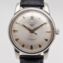 Longines Steel 40mm Automatic L1.645.4.75.4 pre-owned
