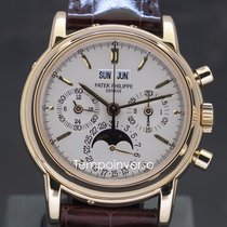 Patek Philippe Perpetual Calendar Chronograph Yellow gold 36mm No numerals