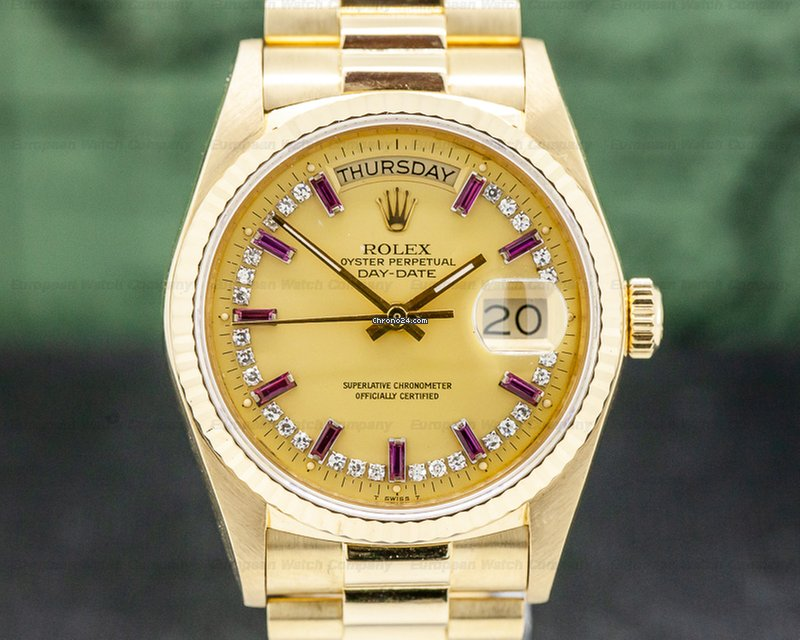 ce1f2a5d229 Rolex Day-Date Yellow gold - all prices for Rolex Day-Date Yellow gold  watches on Chrono24