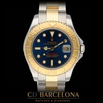 Rolex Yacht-Master Acero y oro 35mm Azul Sin cifras España, Barcelona
