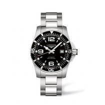Longines HydroConquest Steel 41mm Black Arabic numerals United States of America, Iowa, Des Moines