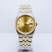 Rolex Datejust Oysterquartz Gold/Steel 36mm Champagne No numerals United Kingdom, Watford
