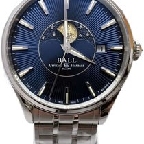 Ball Trainmaster Steel 40mm Blue United States of America, Florida, Naples