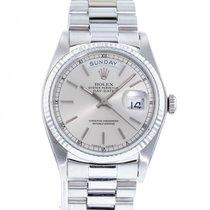 Rolex Day-Date 36 White gold 36mm Silver United States of America, Georgia, Atlanta