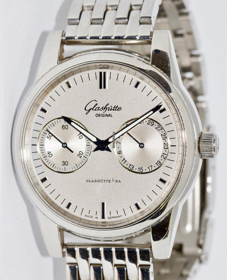 Glashütte Hand Original Date Zeigerdatum Automatic Senator ul13JcTKF5