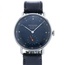 NOMOS Metro Neomatik Steel 35mm Blue United States of America, Georgia, Atlanta