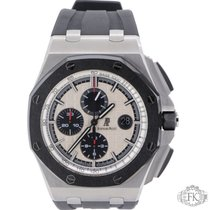 Audemars Piguet AP Royal Oak 44mm Offshore Steel Ceramic Bezel