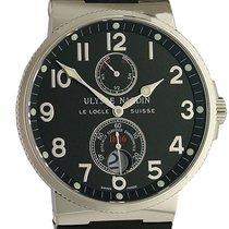 Ulysse Nardin 263-66-3/62 Steel Marine Chronometer 41mm 41mm new