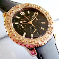 Blancpain Air Command 18K Rose Rubber Strap