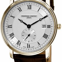 Frederique Constant Slimline Gents new 2010 Quartz Watch with original box FC-245M5S5