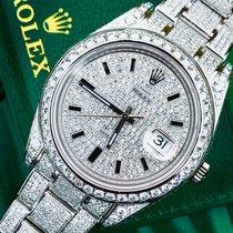 Rolex Datejust 2  116300 Fully diamond set