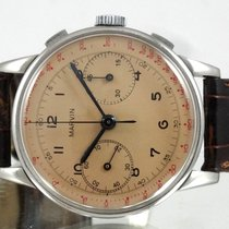 Marvin Chrono Compax Style militaire 37mm