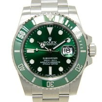 Rolex Submariner(date) Stainless Steel Green Automatic 116610LV