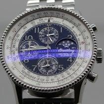 Breitling Montbrillant Olympus Acier 42mm Bleu Arabes