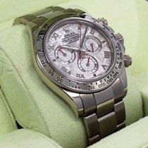 Rolex Daytona 116509 Mtao 18k White Gold Cosmograph Meteorite...