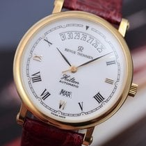 Revue Thommen Gents Hilton Automatic 35mm 18K Yellow Gold on...