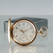 Glashütte Original Watch pre-owned 1910 Rose gold 55mm Arabic numerals Manual winding Watch only