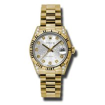 Rolex Yellow gold 31mm 178238 sjdp new