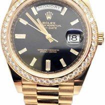Rolex 228348RBR Yellow gold Day-Date 40 40mm pre-owned