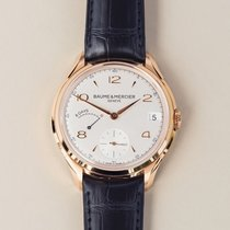 Baume & Mercier Clifton new 2020 Manual winding Watch with original box and original papers moa 10195