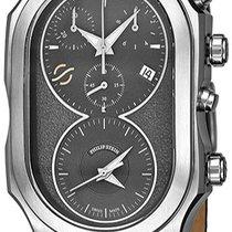 Philip Stein Chronograph 34mm Quartz new Signature Black