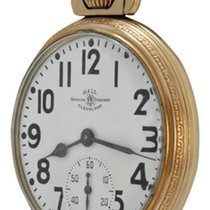 Ball Yellow gold Manual winding White Arabic numerals pre-owned