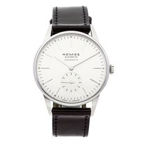 NOMOS 38.5mm Automatic pre-owned Orion Neomatik White