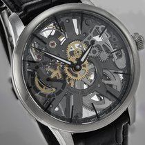 Maurice Lacroix Masterpiece Squelette tweedehands 43mm Staal
