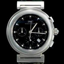 IWC Da Vinci Chronograph Acier 36mm Noir Sans chiffres