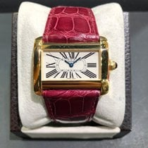 Cartier Tank Divan pre-owned 32mm Leather