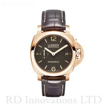 Panerai Luminor Marina 1950 3 Days Automatic Rose gold 42mm Brown Arabic numerals