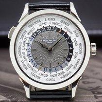 Patek Philippe World Time Beyaz altın 38.5mm Gri