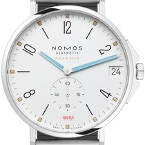 NOMOS Tangente Neomatik Steel 42mm White United States of America, New York, Airmont