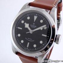 Tudor Black Bay 41 pre-owned 41mm Black Date Leather