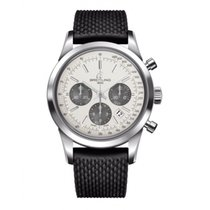 Breitling AB015212/G724/278S/A20S.1 Steel 2019 Transocean Chronograph 43mm new