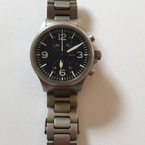 Sinn 756 / 757 Steel 40mm Black Arabic numerals