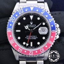 Rolex 16710 Staal GMT-Master II 40mm tweedehands