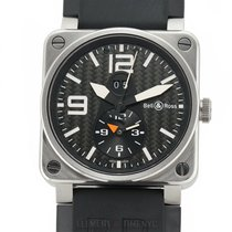 Bell & Ross BR 03-51 GMT Titanium 42mm Black Arabic numerals United States of America, New York, New York