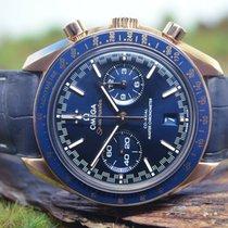 Omega Speedmaster Racing Rose gold 44.2mm Blue
