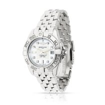 Breitling Galactic 32 Steel 32mm White United States of America, New York, New York