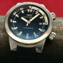 IWC Aquatimer Automatic Stahl 42mm Schwarz
